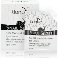 70% Snail Mucin Multifunction Eye Cream,5pcs x 10ml-0